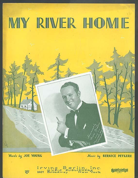 My River Home sheet music 1932