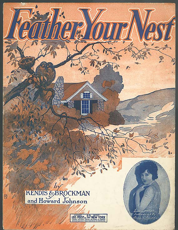 Feather Your Nest sheet music 1920
