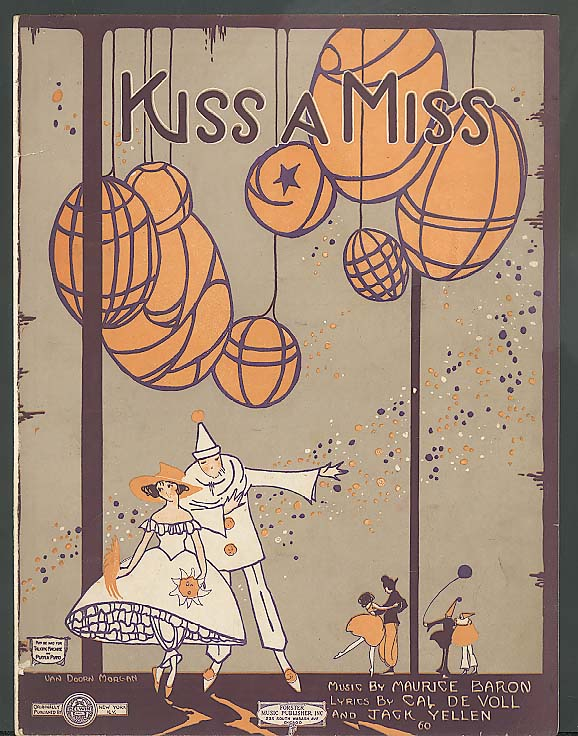 Kiss A Miss sheet music 1920