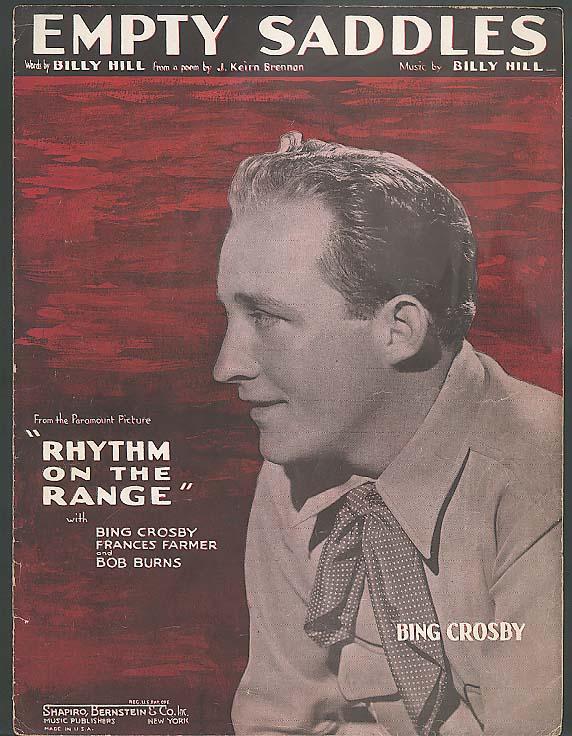 Empty Saddles sheet music Rhythm on the Range 1936