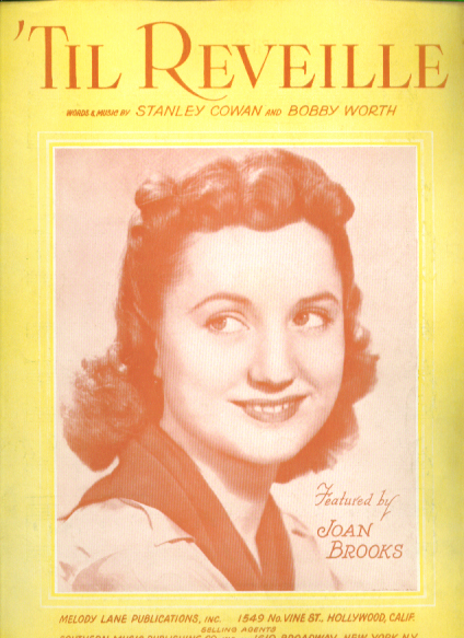 Image for Til Reveille 1941 sheet music Joan Brooks