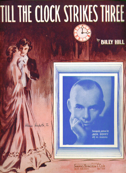 Image for Till the Clock Strikes Three 1937 sheet music