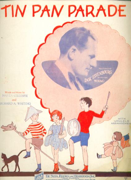 Image for Tin Pan Parade 1927 sheet music