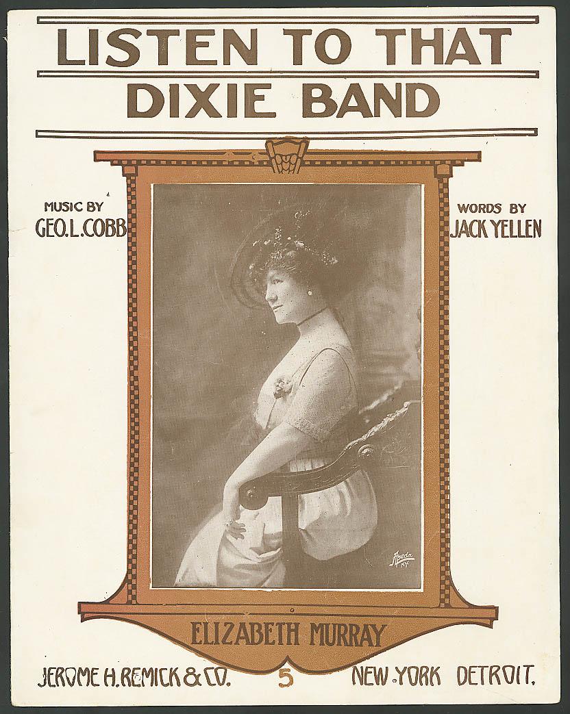 Listen to That Dixie Band Elizabeth Murray sheet music 1914
