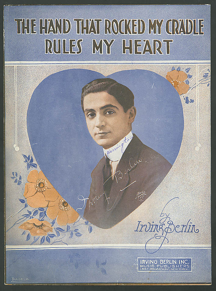 Hand That Rocked the Cradle Rules My Heart music 1919