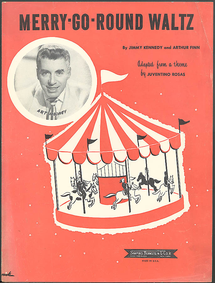 Merry-Go-Round Waltz sheet music Art Mooney 1949
