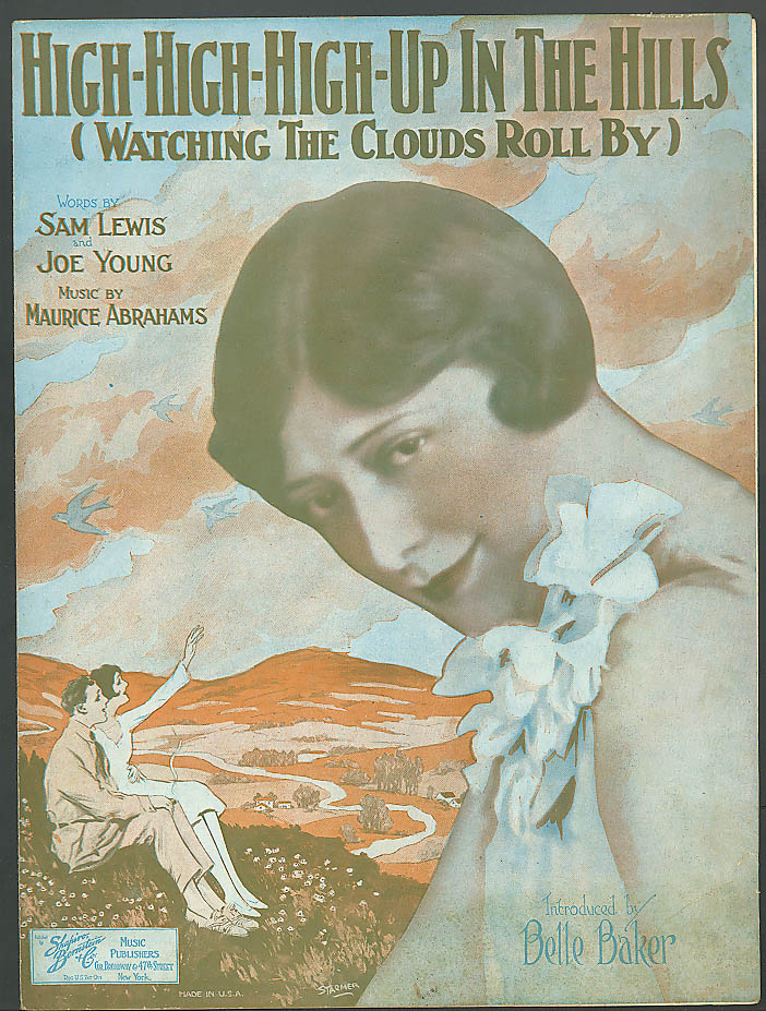 High-High-High-Up in the Hills music Belle Baker 1926