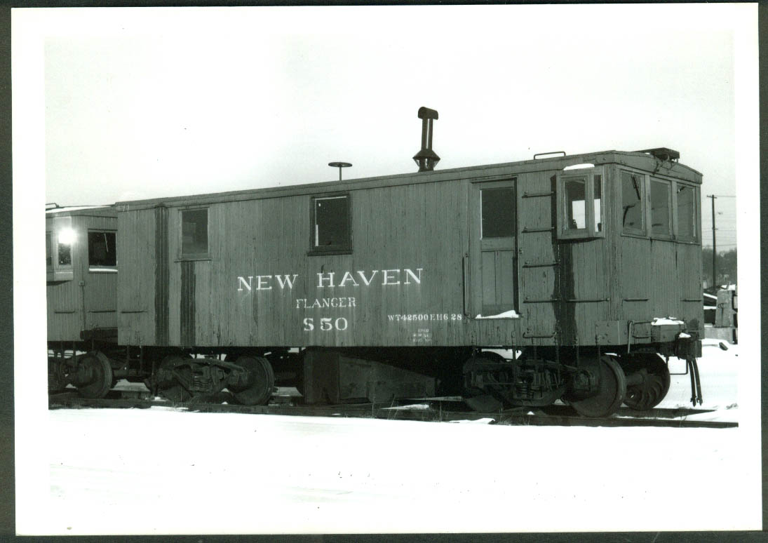 New York New Haven & Hartford RR Flanger #S-50 S Braintree MA 1960 photo