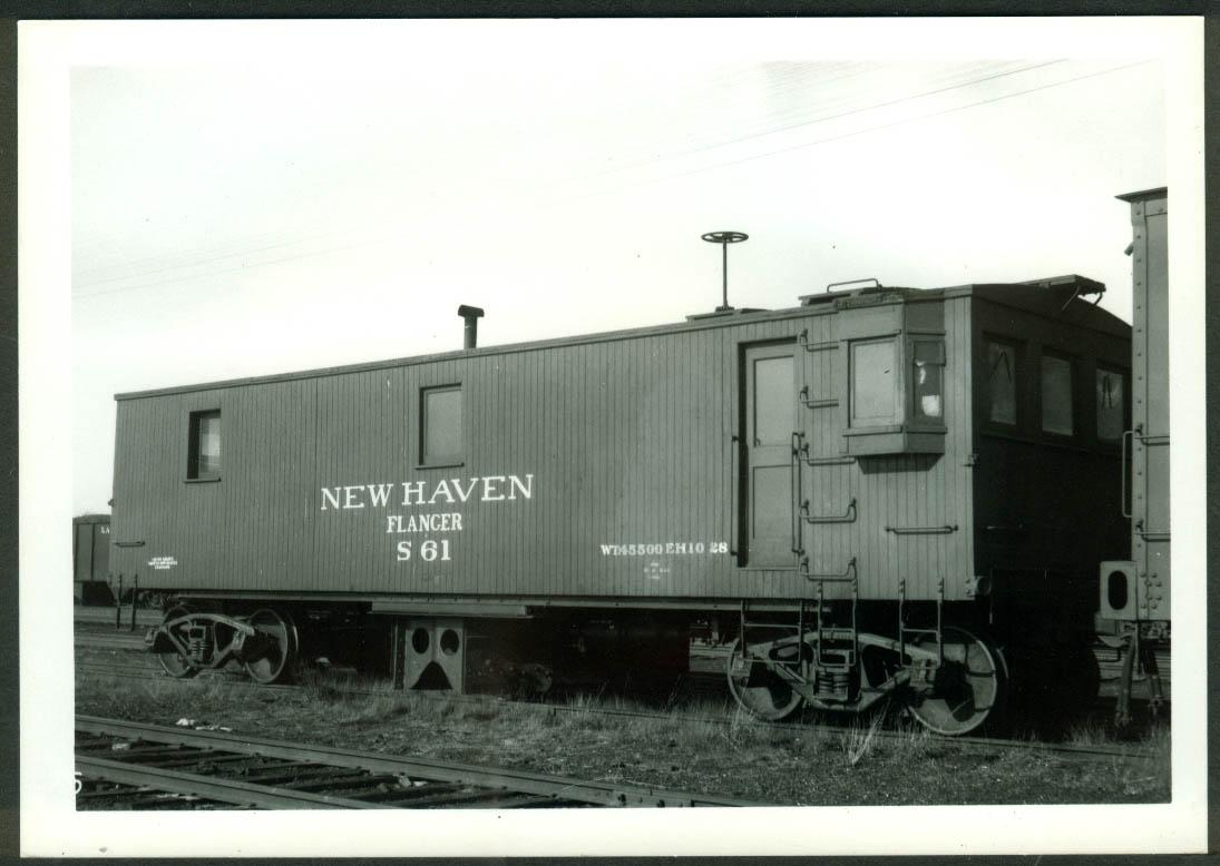 New York New Haven & Hartford RR Flanger #S-61 Framingham MA 1948 photo