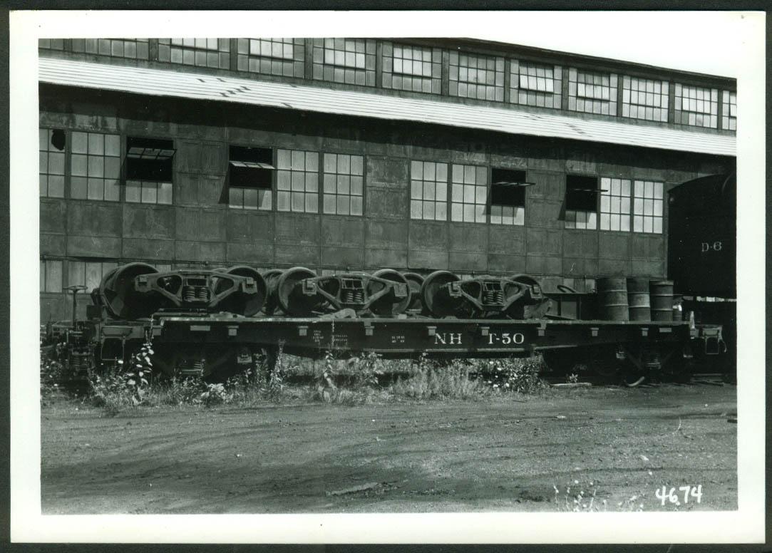 New York New Haven & Hartford RR Truck Car #T-59 Maybrook NY 1966 photo