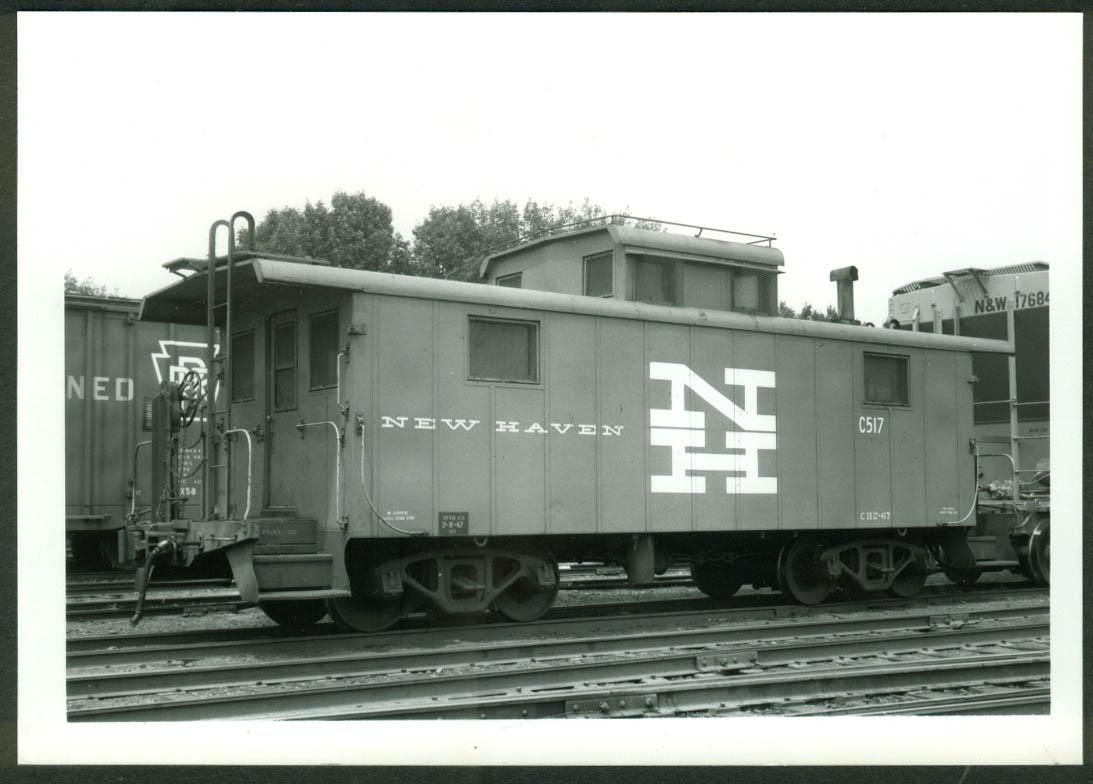 New York New Haven & Hartford RR Caboose #C-517 S Braintree MA 1970 photo