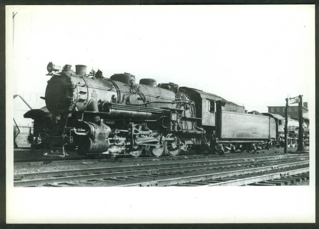 New York New Haven & Hartford RR 0-8-0 loco #3605 Providence RI 1939 photo