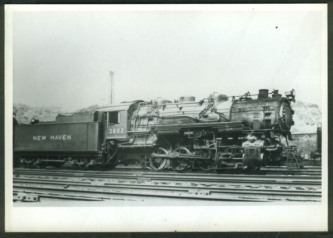 New York New Haven & Hartford RR 0-8-0 loco #3602 Cedar Hill CT 1938 photo