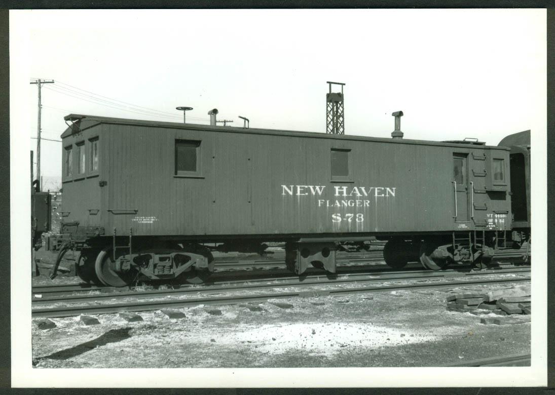 New York New Haven & Hartford RR Snow Flanger #S-73 New York NY 1956 photo
