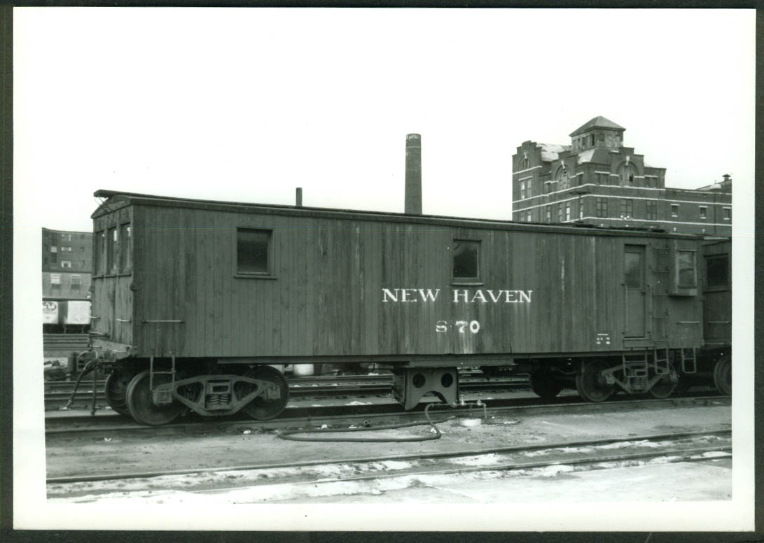New York New Haven & Hartford RR Snow Flanger #S-70 Hartford CT 1967 photo