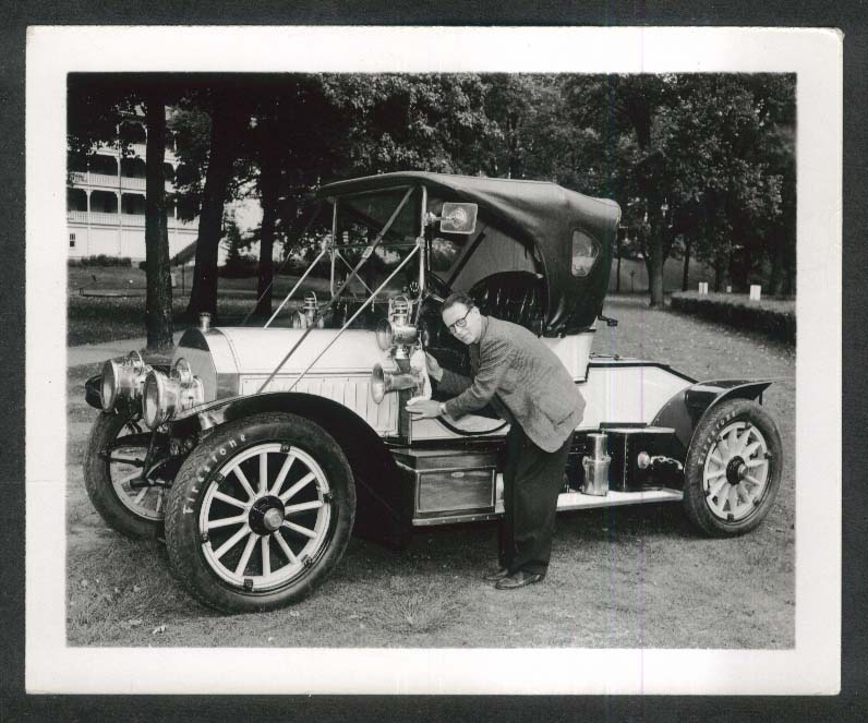 1906 Mercedes at 1951 Glidden Tour 4x5 photo #40