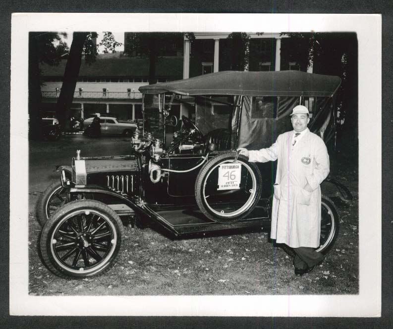 1915 Ford at 1951 Glidden Tour 4x5 photo #50