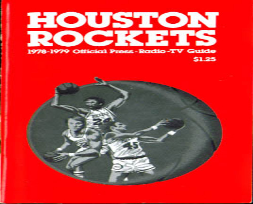 1978-79 Houston Rockets Press Guide