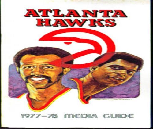 1977-78 Atlanta Hawks Media Guide