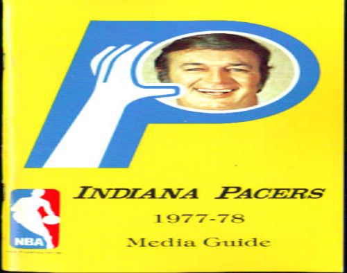 1977-78 Indiana Pacers Media Guide
