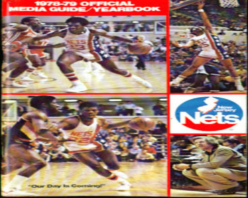 1978-1979 New Jersey Nets Media Guide NBA Basketball