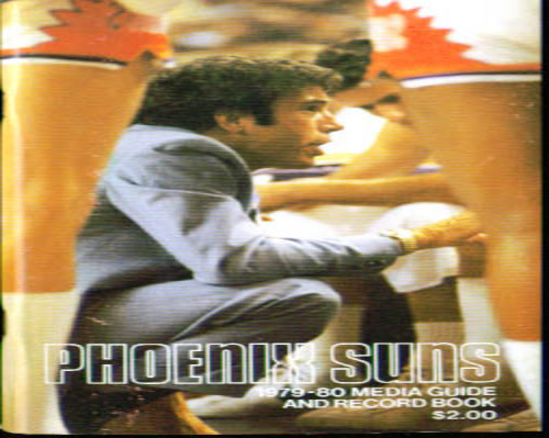 1979-1980 Phoenix Suns Media Guide NBA Basketball