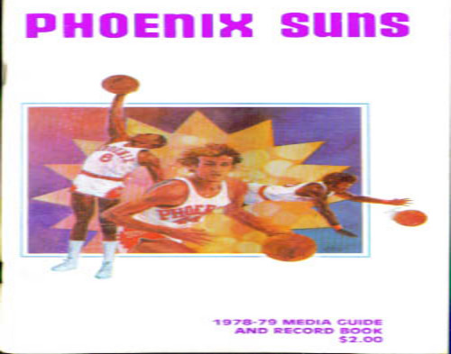 1978-1979 Phoenix Suns Media Guide NBA Basketball