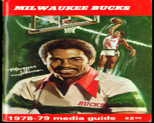 1978-1979 Milwaukee Bucks Media Guide NBA Basketball