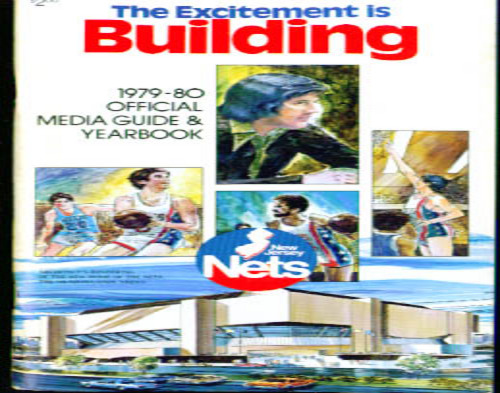 1979-1980 New Jersey Nets Media Guide NBA Basketball