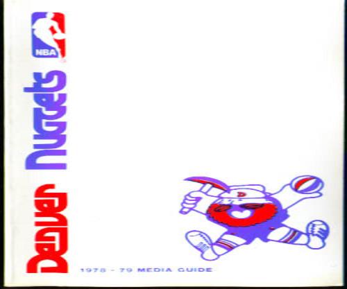 1979-80 Denver Nuggets Media Guide