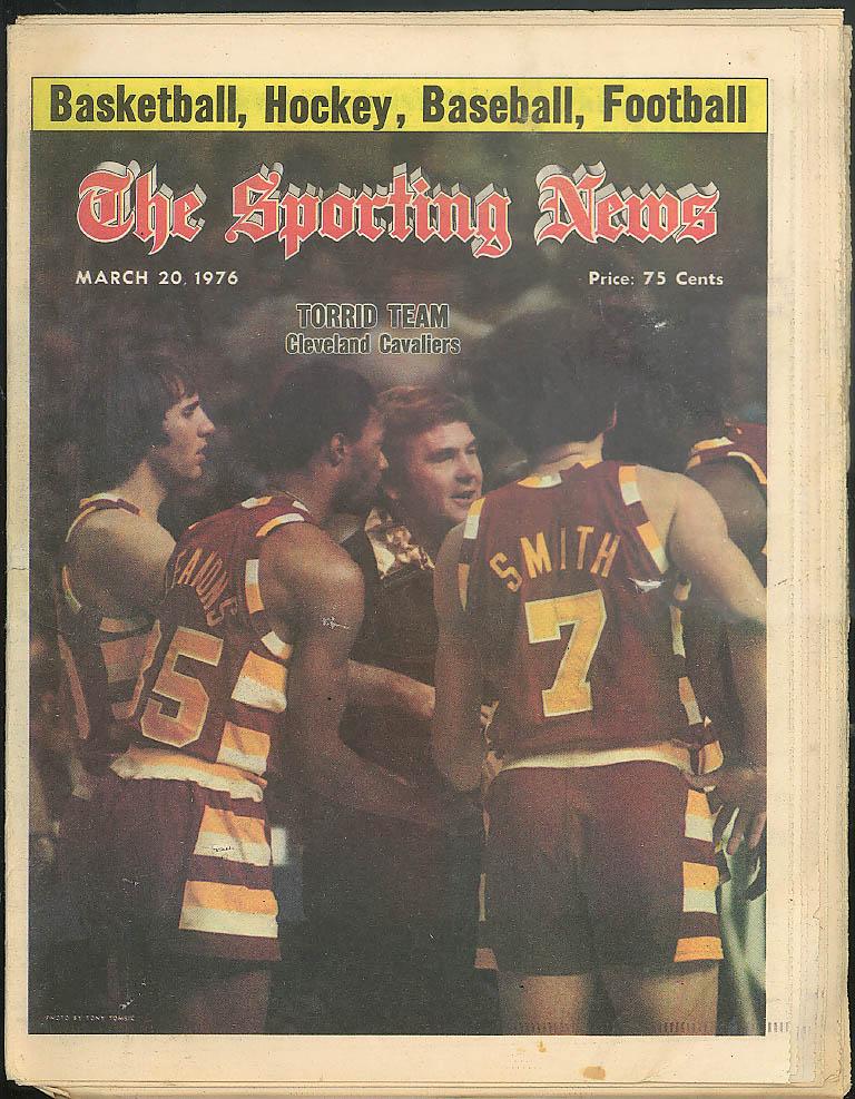 SPORTING NEWS Nate Thurmond Paul Snyder 3/20 1976