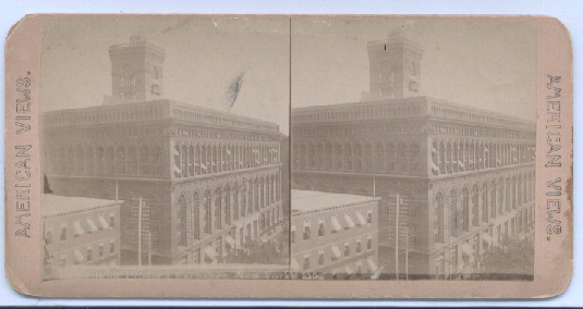 1890's Stereoview New York Produce Exchange