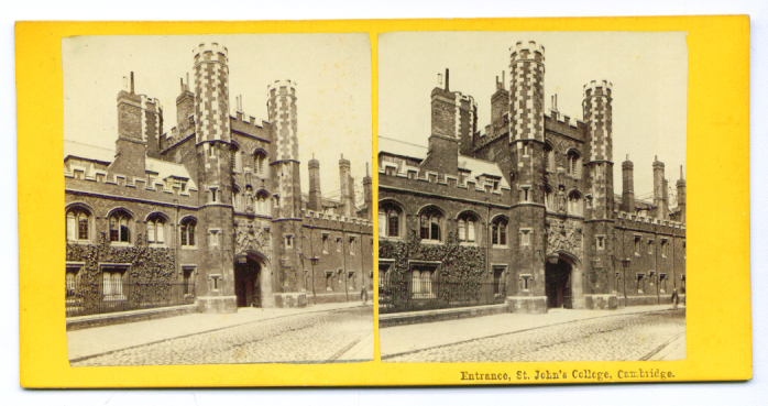 Image for St John's College Cambridge stereoview 187?
