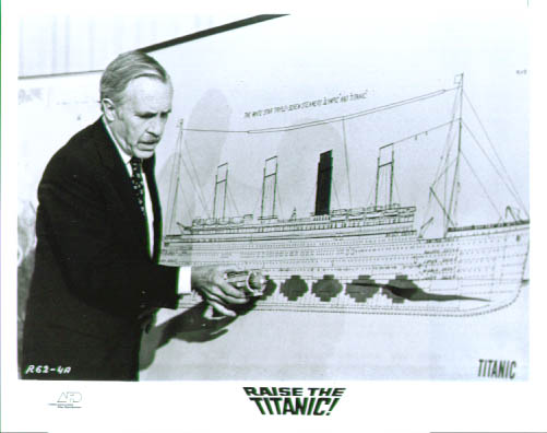 Image for Jason Robards Raise the Titanic 8x10 #2 1980