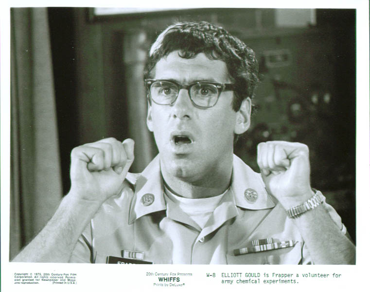 Elliott Gould as Frapper in Whiffs 8x10 still 1975