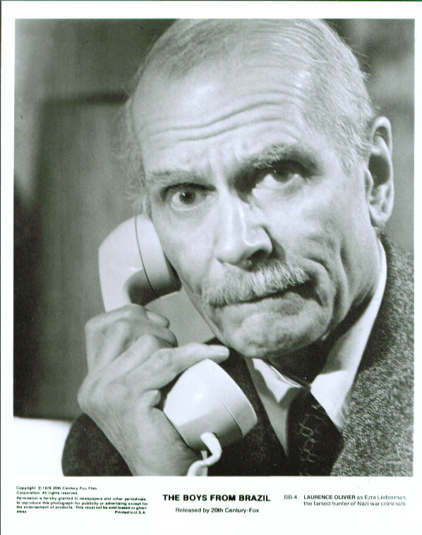Laurence Olivier in The Boys from Brazil still 1978