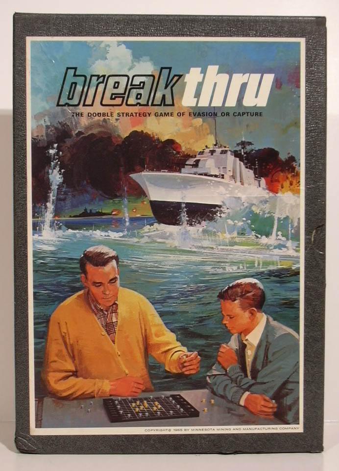 3M Break Thru Strategy Game set 1965