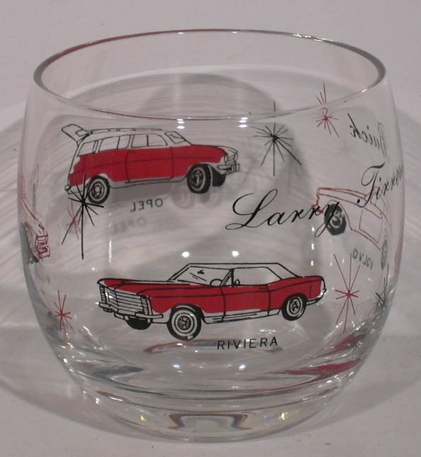 Image for Larry Tirreno Buick Riviera Triumph Volvo Opel glass
