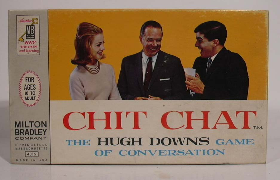 Chit Chat Hugh Downs Game of Conversation 1963