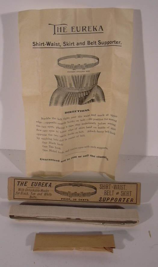 Eureka Shirt-Waist Belt & Skirt Supporter 1890s