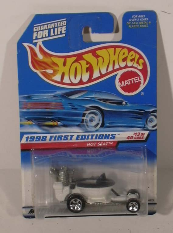 Hot Wheels Hot Seat Street Rod 1st Edition #13 1998 MOC