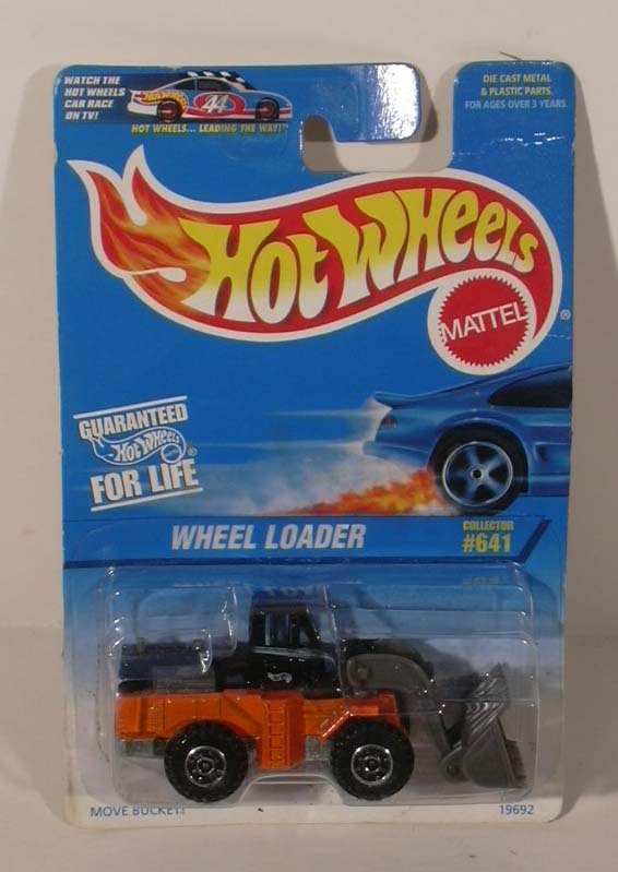 Hot Wheels Wheel Loader #641 1996 NMOC