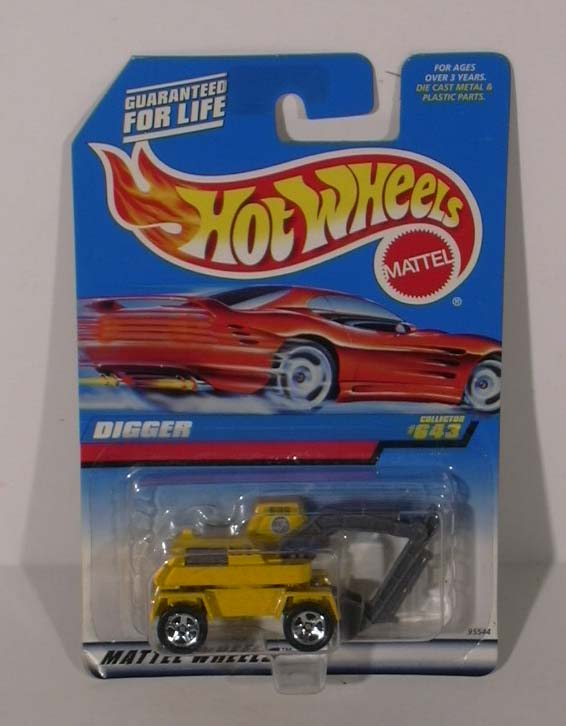 Hot Wheels Digger #643 1997 MOC