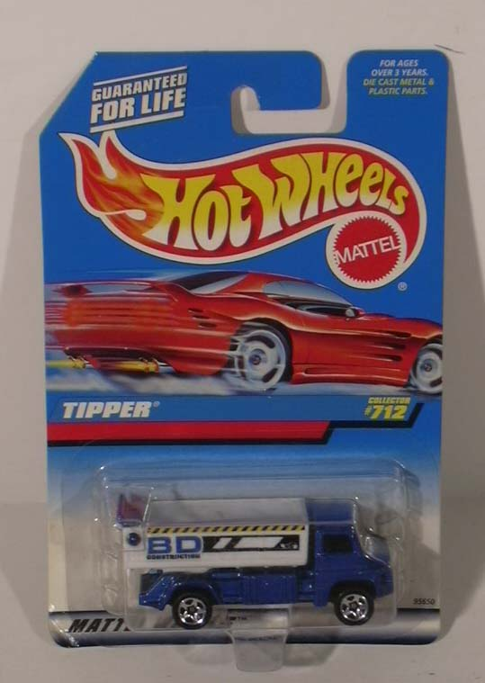 Hot Wheels BD Tipper #712 1997 MOC