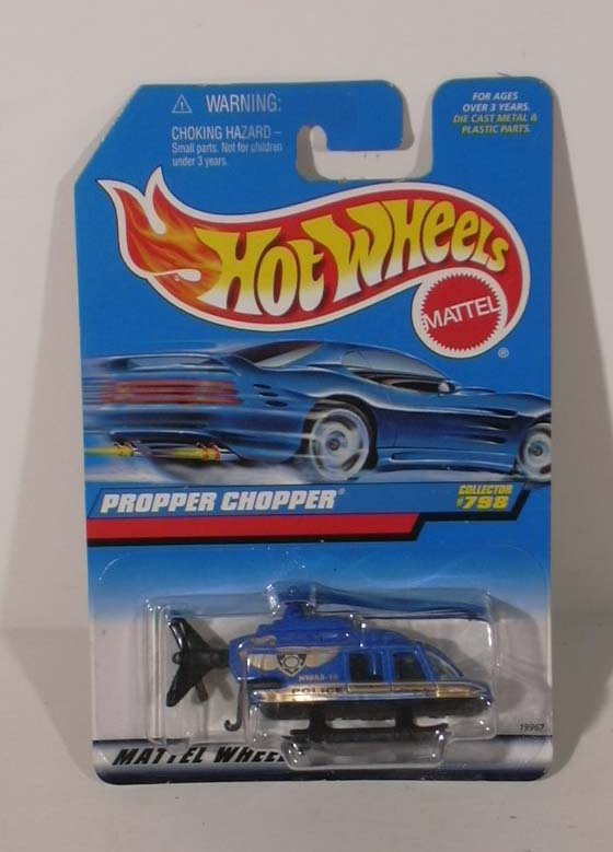 Hot Wheels Propper Chopper #798 1997 MOC