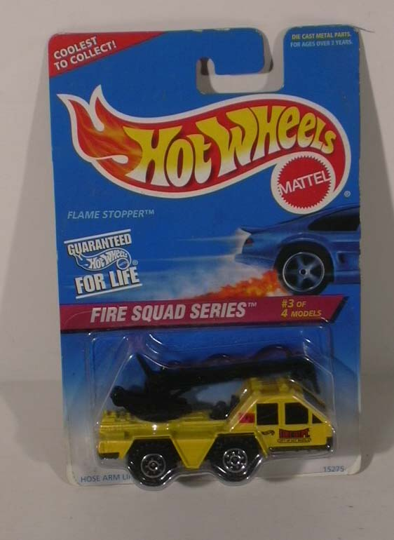 Hot Wheels Fire Squad #3 1995 NMOC