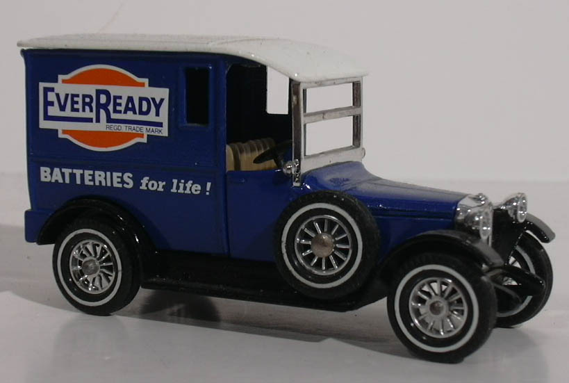 1927 Talbot Eveready Battery Van Matchbox #Y-5 1978