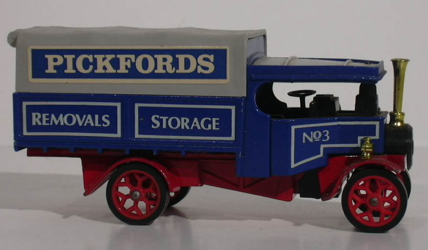 Fodens Pickfords Steam Wagon Matchbox #Y-21 1984