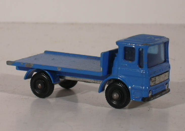 Matchbox #60B Site Hut Truck no hut 1966