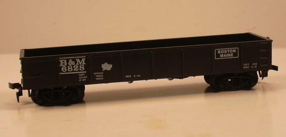 Model Power HO B&M Steel Gondola #9095 in box